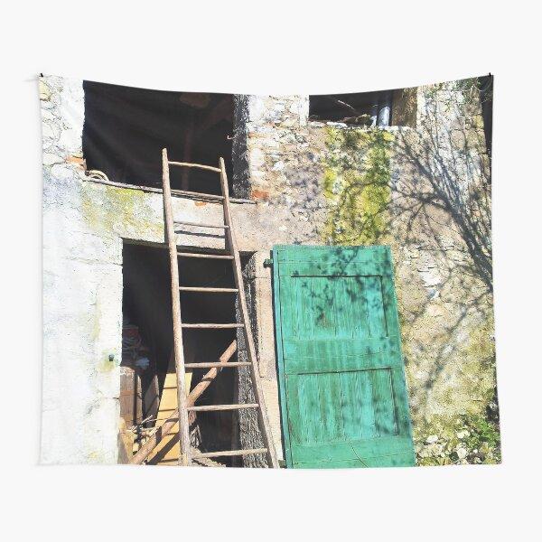 THE GREEN DOOR  Tapestry