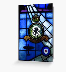 Fighter Squadron 234, R.A.F. Greeting Card