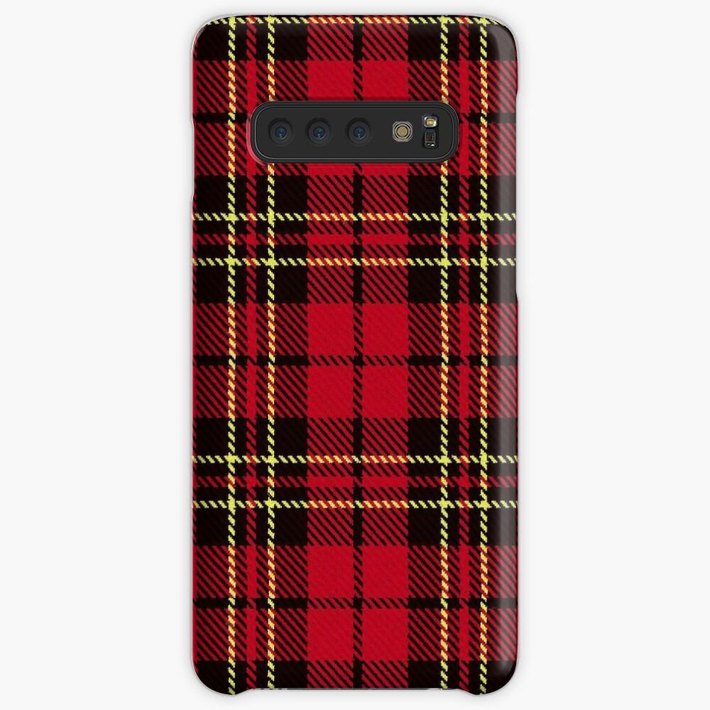 Brodie tartan clan scotland Case & Skin for Samsung Galaxy