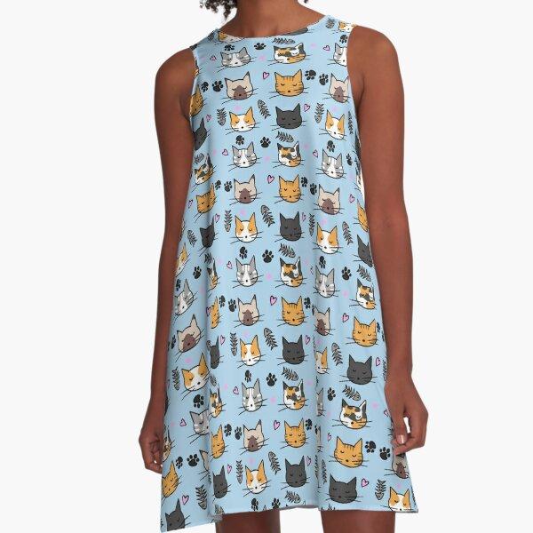 Gatetes A-Line Dress