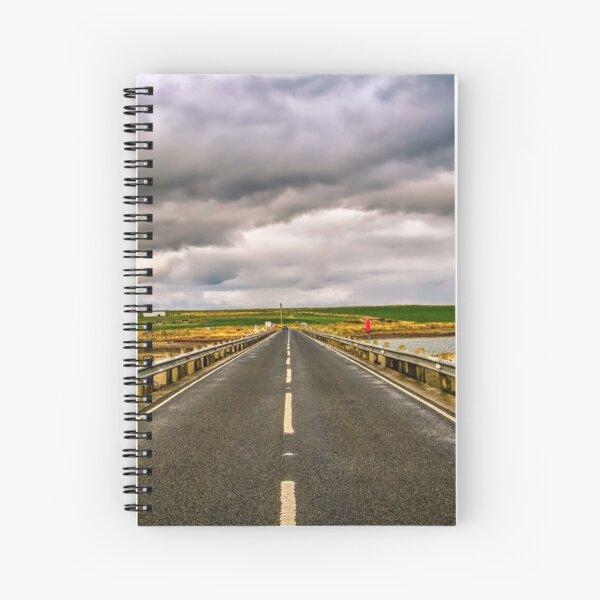 Churchill Barrier, Orkney. Spiral Notebook