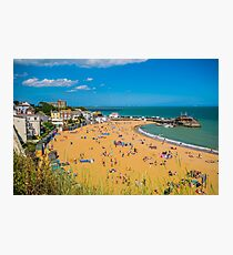 The beach of Viking Bay, Broadstairs, Kent Photographic Print