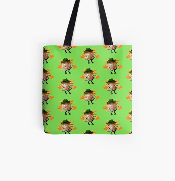 Aubrey the Strawberry. All Over Print Tote Bag