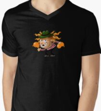 Aubrey the Strawberry. V-Neck T-Shirt