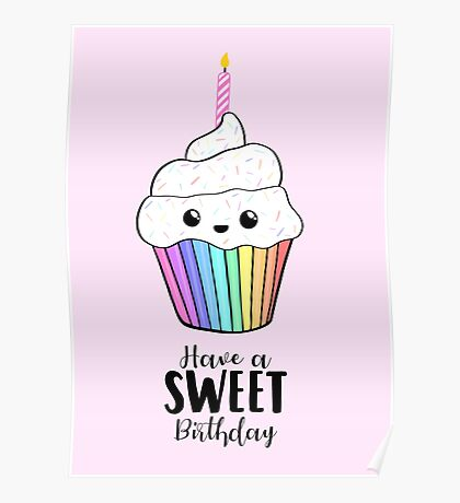 Have a SWEET Birthday! Poster