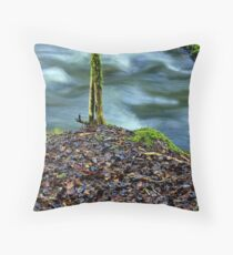 """""""On its Own"""" Throw Pillow"""