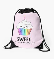 This is my SWEET Birthday shirt! Drawstring Bag