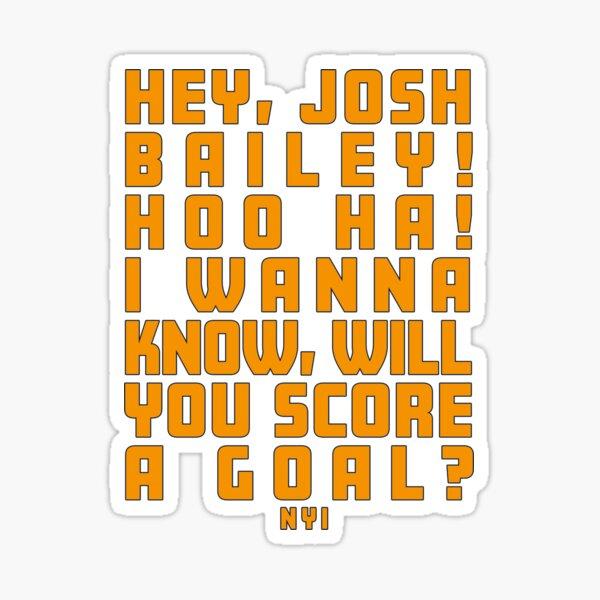 Josh Bailey Song Sticker