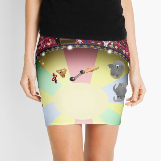 Circus ring gasping Mini Skirt