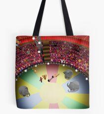 Circus ring gasping Tote Bag
