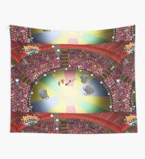 Circus ring gasping Wall Tapestry