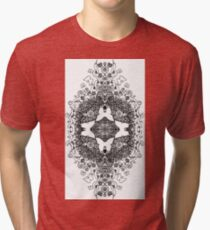 Butterfly Topiary Tri-blend T-Shirt