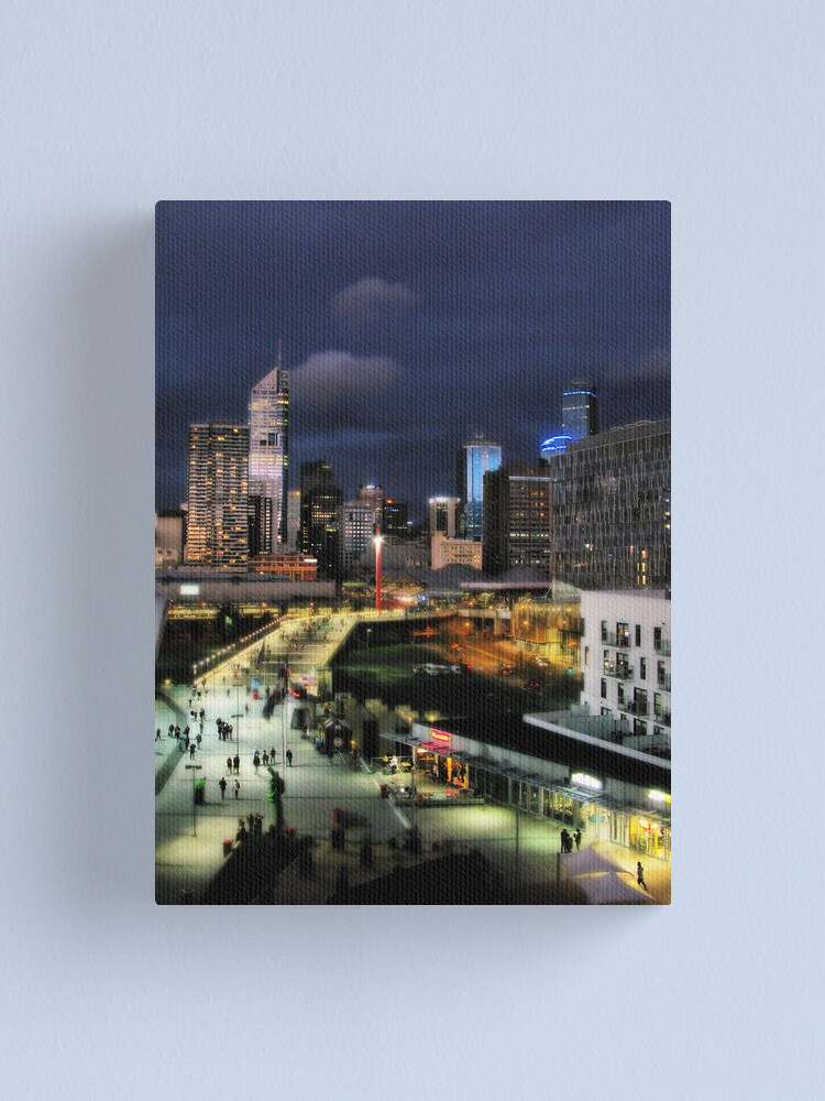 Alternate view of View from Luke's apartment Canvas Print