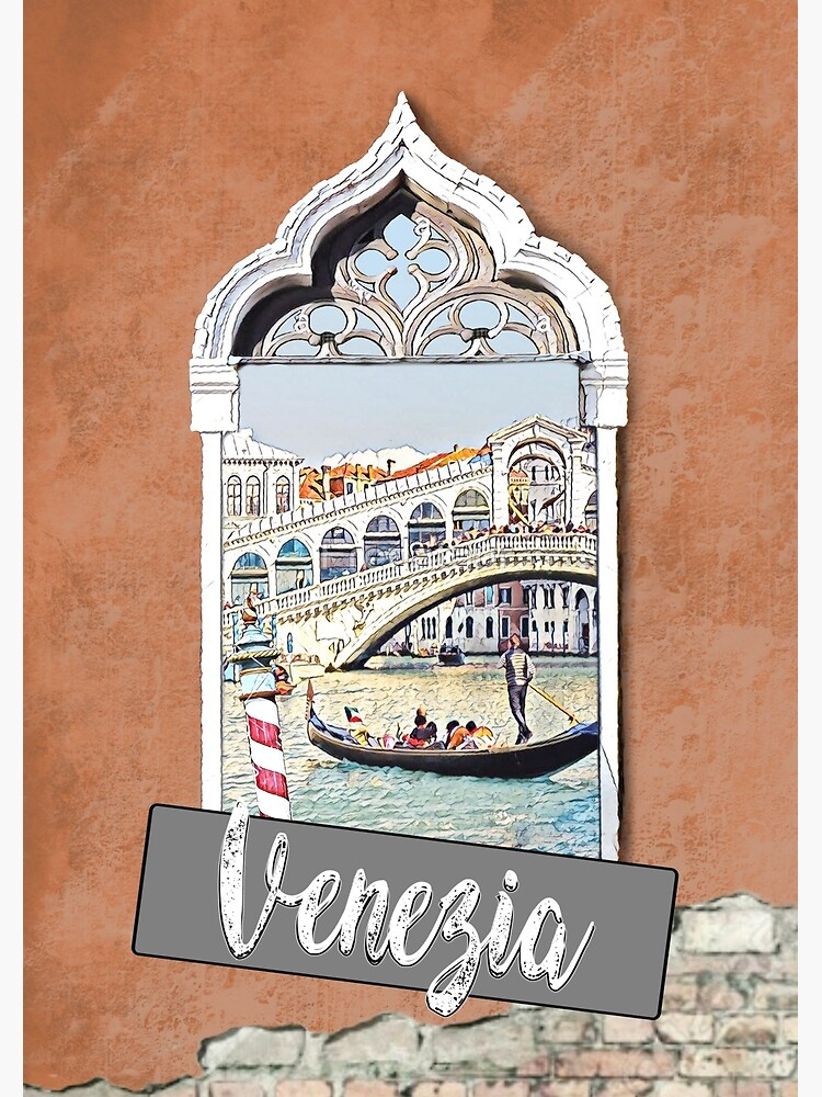 Venecia Venezia city Italia poster poster print de Fredataur