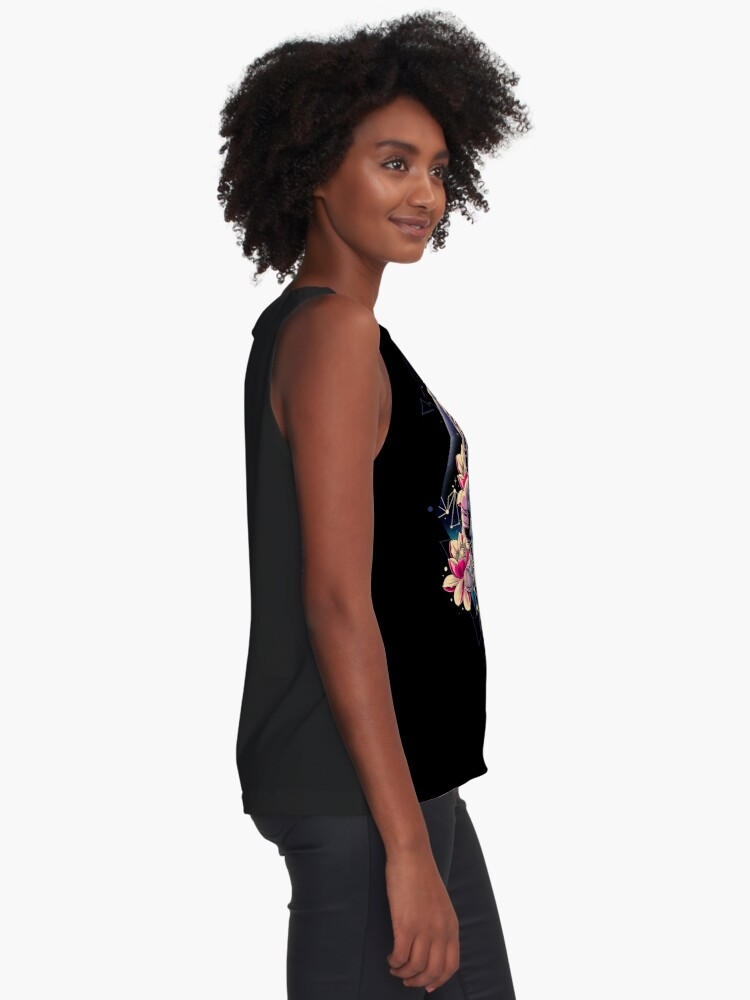 Alternate view of Deep Space Sleeveless Top