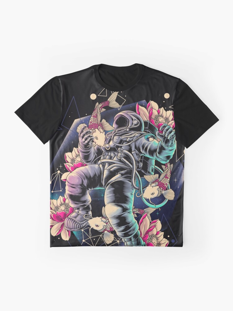 Alternate view of Deep Space Graphic T-Shirt