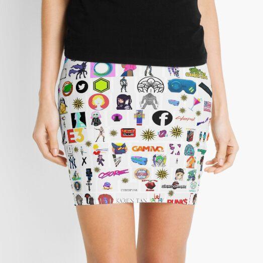 #Cyberpunk  #Cyber #Punk  Mini Skirt