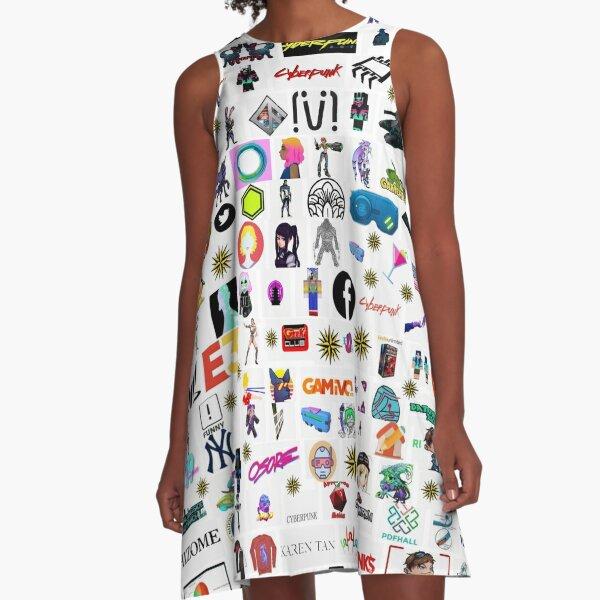 #Cyberpunk  #Cyber #Punk  A-Line Dress