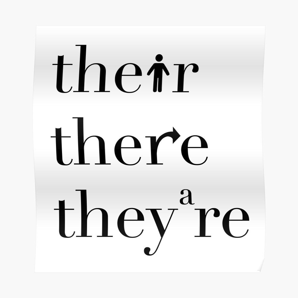 Image result for their there they're