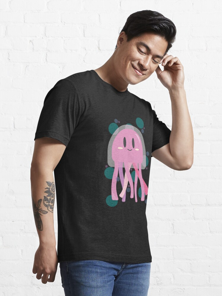 Alternate view of Funny cute jellyfish kids bathing fun sea holiday Essential T-Shirt