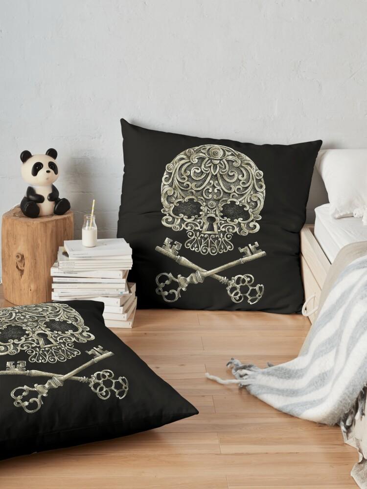 Alternate view of secrets Floor Pillow