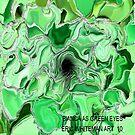 ( BIANCA AS  GREEN EYES )   ERIC WHITEMAN ART  by eric  whiteman