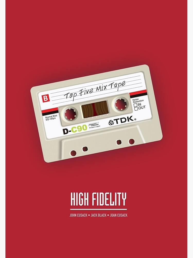 High Fidelity - Alternative Movie Poster by MoviePosterBoy
