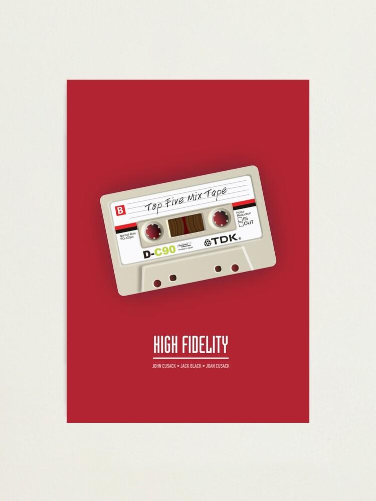 Alternate view of High Fidelity - Alternative Movie Poster Photographic Print