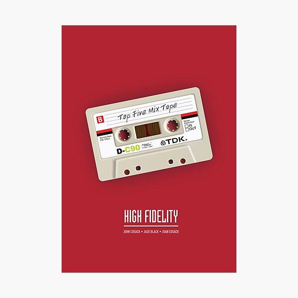 High Fidelity - Alternative Movie Poster Photographic Print