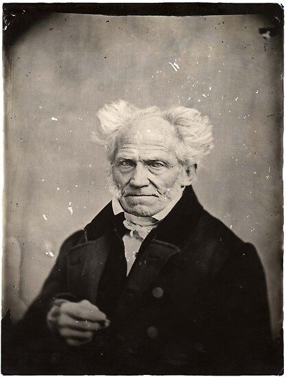 Arthur Schopenhauer Porträt von GodsAutopsy