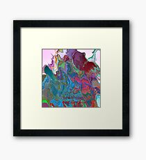( THE  MAGIC  RABBIT  )   ERIC WHITEMAN   Framed Print
