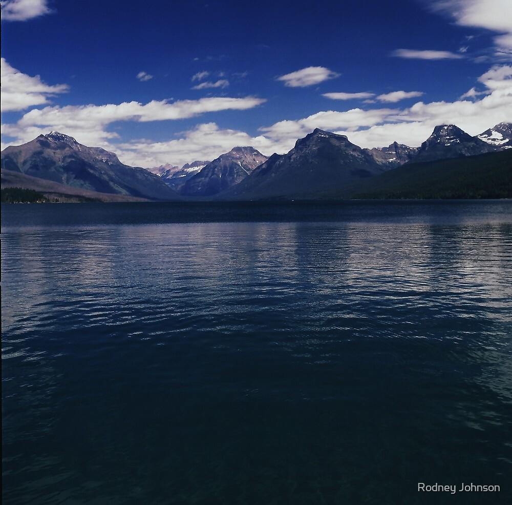 Lake McDonald, Glacier N.P., Montana by Rodney Johnson