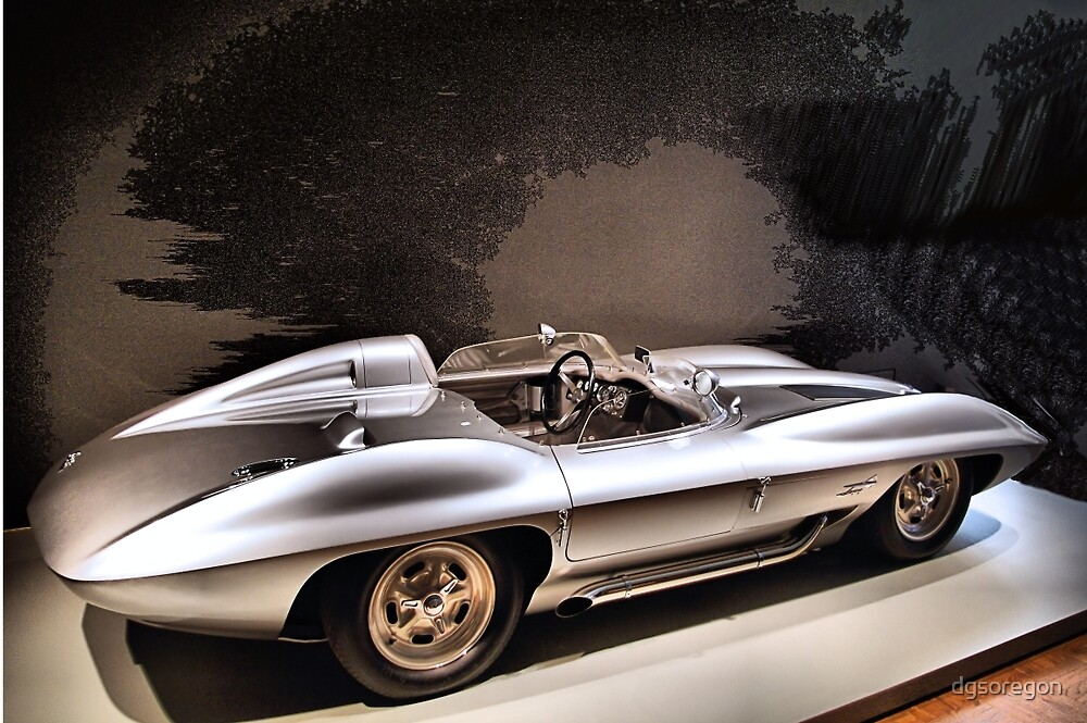 1959 Chevrolet Corvette Stingray Concept Racer by Donald Siebel