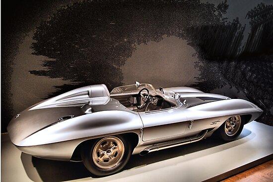 1959 Chevrolet Corvette Stingray Concept Racer by Donald Siebel