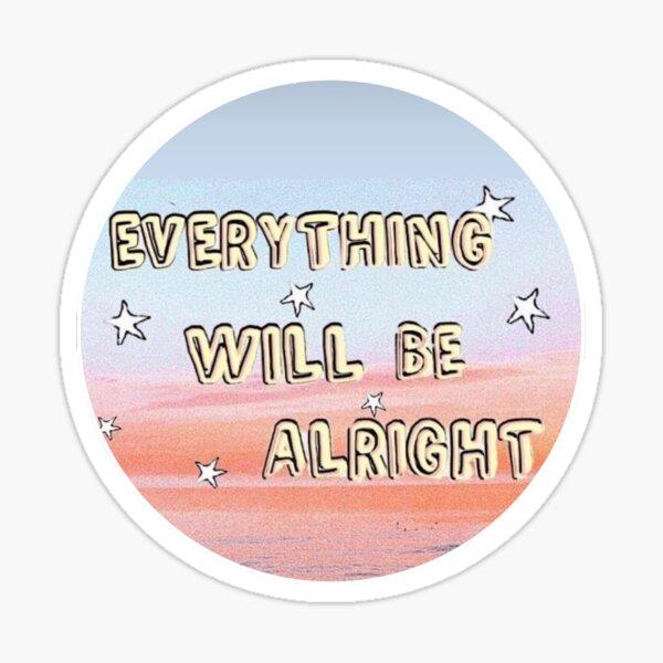 Alles wird gut werden Sticker
