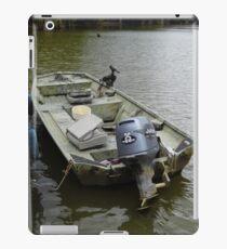 Bass Boat iPad Case/Skin