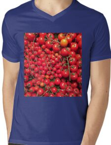 Tomatoes Mens V-Neck T-Shirt