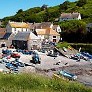 Cadgwith Village Harbour by saxonfenken
