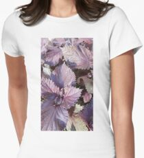 Glorious Purple Basil Women's Fitted T-Shirt