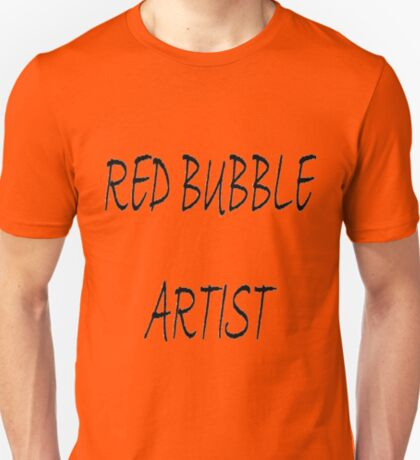 RED BUBBLE TEE T-Shirt