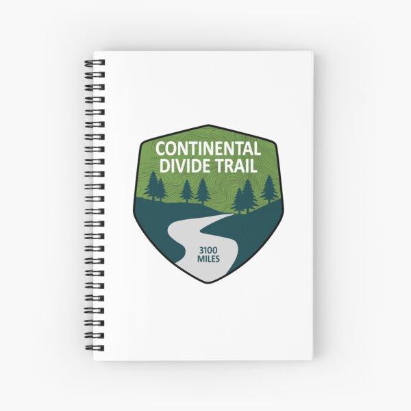 Continental Divide Trail Spiral Notebook