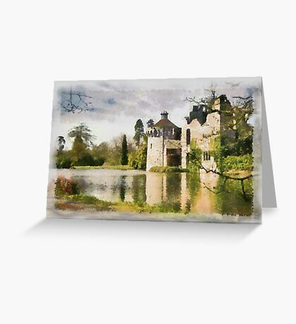 Impressions of Scotney Castle  Greeting Card