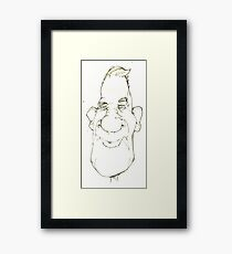 Cartoon No 156 Framed Print
