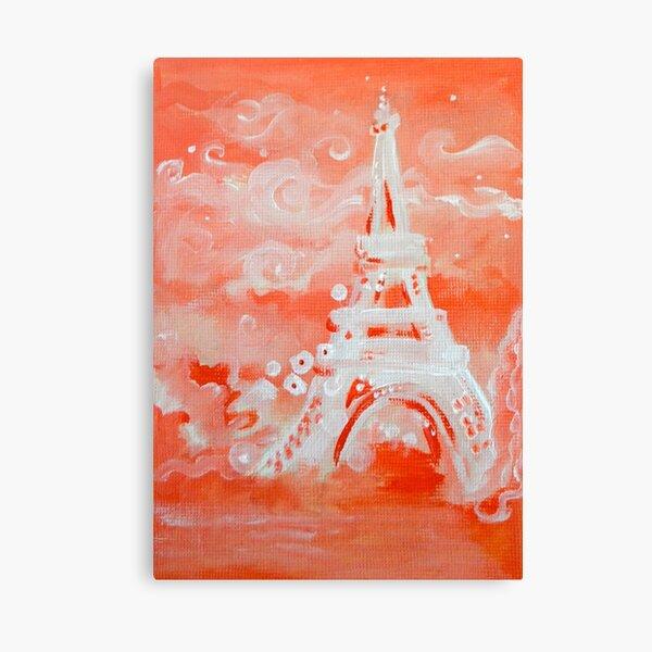 Paris Pink Canvas Print