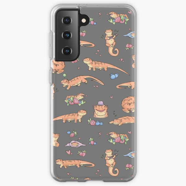 Dragons and berries Samsung Galaxy Soft Case