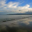 Poole Bay - Looking West from Branksome by RedHillDigital