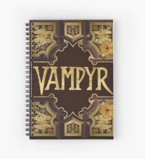 Vampyr Book Spiral Notebook