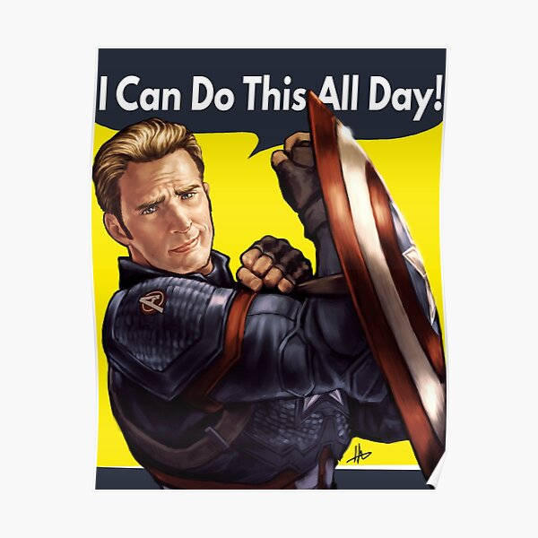 Cap Can Do It! Poster