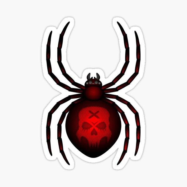 Errorface Skull Spider 2 Sticker