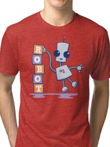Ned's Blocks Tri-blend T-Shirt